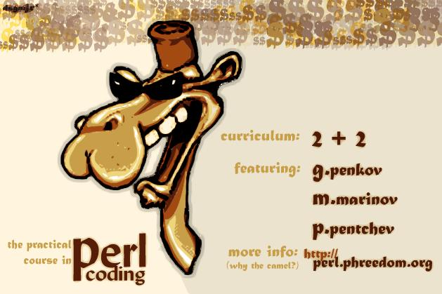 Practical Perl Programming, camel and all